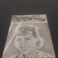 Cine: JOAN BLONDELL. LA GOLONDRINA. N° 81. 27/02/1937.. Lote 243605850