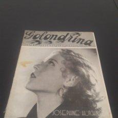 Cine: JOSEPHINE HUTCHINSON. LA GOLONDRINA. N° 86. 03/04/1937.. Lote 243606375