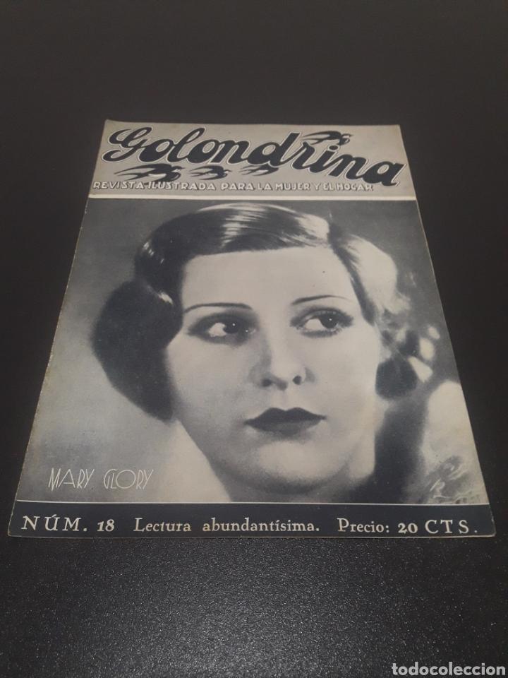 MARY GLORY. LA GOLONDRINA. N° 18. 21/03/1936. (Cine - Revistas - Otros)