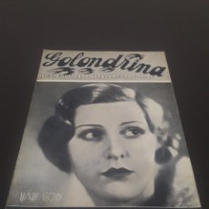 Cine: MARY GLORY. LA GOLONDRINA. N° 18. 21/03/1936.. Lote 243606640