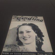 Cine: MERLE OBERON. LA GOLONDRINA. N° 24. 11/04/1936.. Lote 243607035