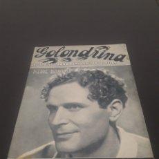 Cine: PIERRE BLANCHAR. LA GOLONDRINA. N° 29. 28/04/1936.. Lote 243607595