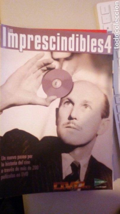 LOS IMPRESCINDIBLES 4. PELICULAS DVD (Cine - Revistas - Otros)