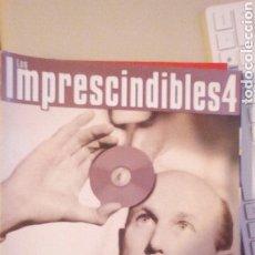 Cine: LOS IMPRESCINDIBLES 4. PELICULAS DVD. Lote 243656055