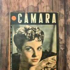 Cine: REVISTA CAMARA, NUMERO 8, MAYO DE 1942, ( TALLERES RIVADENEYRA ). Lote 243071995