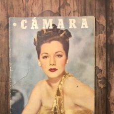 Cine: REVISTA CAMARA, NUMERO 101, MARZO DE 1947, ( TALLERES RIVADENEYRA ). Lote 243098975
