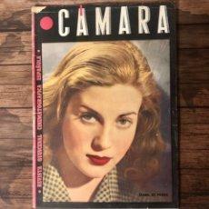 Cine: REVISTA CAMARA, NUMERO 66, OCTUBRE DE 1945, ( TALLERES RIVADENEYRA ). Lote 243099110
