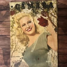 Cine: REVISTA CAMARA, NUMERO 112, SEPTIEMBRE DE 1947, ( TALLERES RIVADENEYRA ). Lote 243099250