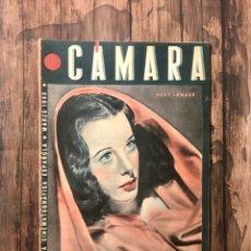 Cine: REVISTA CAMARA, NUMERO 18, MARZO DE 1943, ( TALLERES RIVADENEYRA ). Lote 243099460