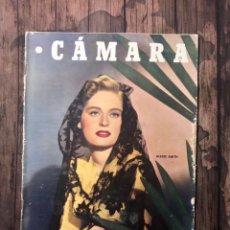 Cine: REVISTA CAMARA, NUMERO 162, OCTUBRE DE 1949, ( TALLERES RIVADENEYRA ). Lote 243099555