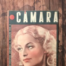 Cine: REVISTA CAMARA, NUMERO 17, FEBRERO DE 1943, ( TALLERES RIVADENEYRA ). Lote 243100085