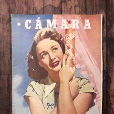 Cine: REVISTA CAMARA, NUMERO 87, AGOSTO DE 1946, ( TALLERES RIVADENEYRA ). Lote 243100250
