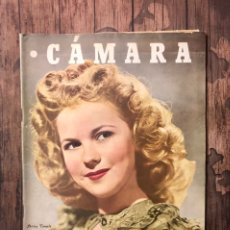 Cine: REVISTA CAMARA, NUMERO 92, NOVIEMBRE DE 1946, ( TALLERES RIVADENEYRA ). Lote 243100405
