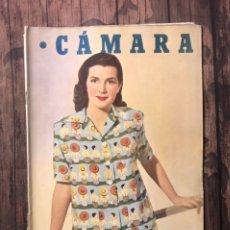 Cine: REVISTA CAMARA, NUMERO 177, MAYO DE 1950, ( TALLERES RIVADENEYRA ). Lote 243100490