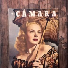 Cine: REVISTA CAMARA, NUMERO 131, JUNIO DE 1948, ( TALLERES RIVADENEYRA ). Lote 243100580