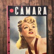 Cine: REVISTA CAMARA, NUMERO 62, AGOSTO DE 1945, ( TALLERES RIVADENEYRA ). Lote 243100685