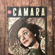 Cine: REVISTA CAMARA, NUMERO 23, AGOSTO DE 1943, ( TALLERES RIVADENEYRA ). Lote 243101940