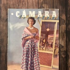 Cine: REVISTA CAMARA, NUMERO 161, SEPTIEMBRE DE 1949, ( TALLERES RIVADENEYRA ). Lote 243102020