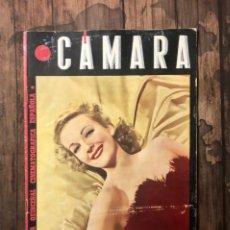 Cine: REVISTA CAMARA, NUMERO 59, JUNIO DE 1945, ( TALLERES RIVADENEYRA ). Lote 243102060