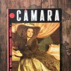 Cine: REVISTA CAMARA, NUMERO 41, SEPTIEMBRE DE 1944, ( TALLERES RIVADENEYRA ). Lote 243102130