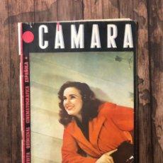 Cine: REVISTA CAMARA, NUMERO 50, FEBRERO DE 1945, ( TALLERES RIVADENEYRA ). Lote 243102345