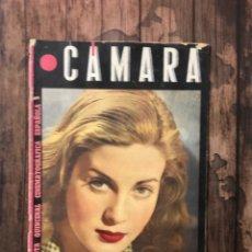 Cine: REVISTA CAMARA, NUMERO 66, OCTUBRE DE 1945, ( TALLERES RIVADENEYRA ). Lote 243102385