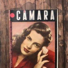 Cine: REVISTA CAMARA, NUMERO 27, DICIEMBRE DE 1943, ( TALLERES RIVADENEYRA ). Lote 243102645