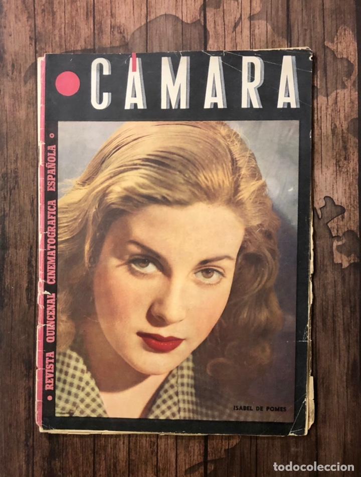 REVISTA CAMARA, NUMERO 66, OCTUBRE DE 1945, ( TALLERES RIVADENEYRA ) (Cine - Revistas - Cámara)