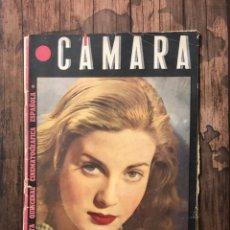 Cine: REVISTA CAMARA, NUMERO 66, OCTUBRE DE 1945, ( TALLERES RIVADENEYRA ). Lote 243102730