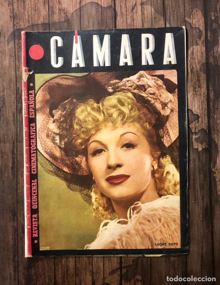 REVISTA CAMARA, NUMERO 32, MAYO DE 1944, ( TALLERES RIVADENEYRA ) (Cine - Revistas - Cámara)