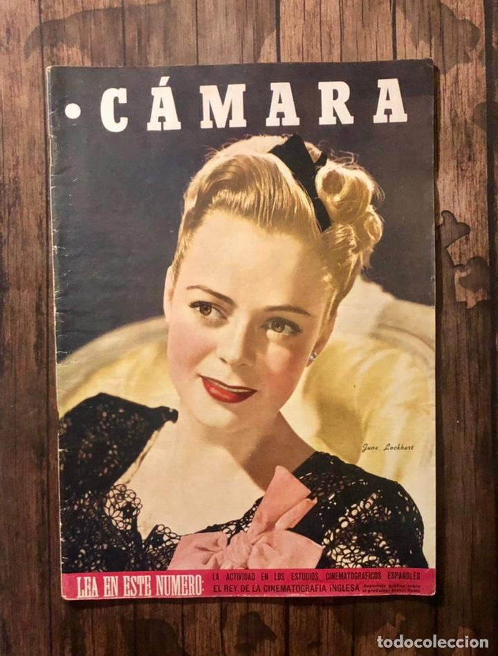 REVISTA CAMARA, NUMERO 93, NOVIEMBRE DE 1946, ( TALLERES RIVADENEYRA ) (Cine - Revistas - Cámara)