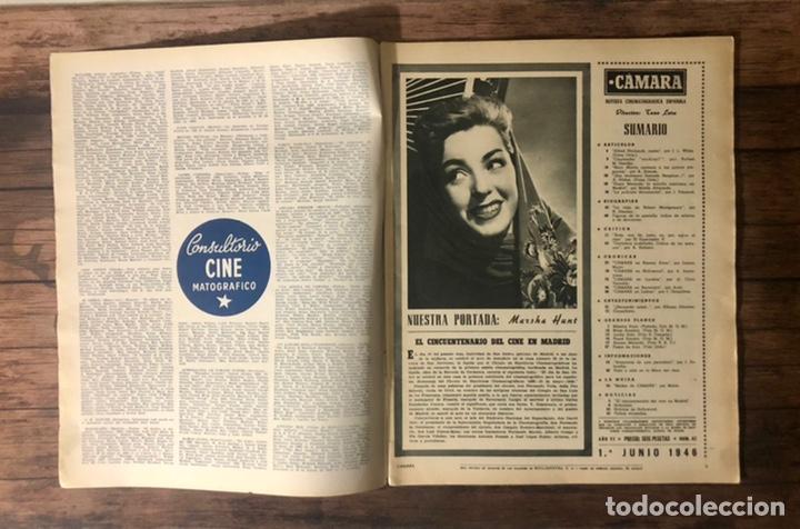 Cine: REVISTA CAMARA, NUMERO 82, JUNIO DE 1946, ( TALLERES RIVADENEYRA ) - Foto 2 - 243102890