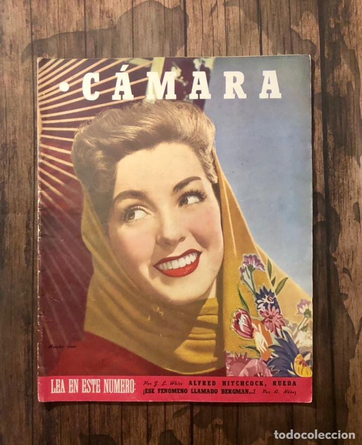 REVISTA CAMARA, NUMERO 82, JUNIO DE 1946, ( TALLERES RIVADENEYRA ) (Cine - Revistas - Cámara)