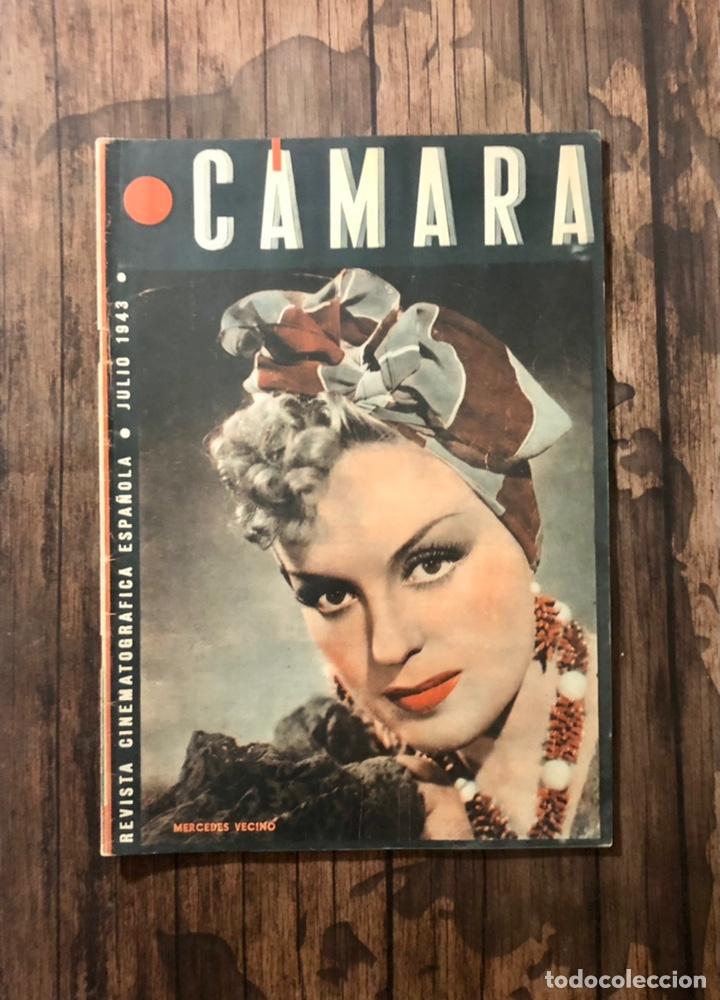 REVISTA CAMARA, NUMERO 22, JULIO DE 1943, ( TALLERES RIVADENEYRA ) (Cine - Revistas - Cámara)