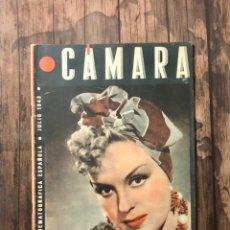 Cine: REVISTA CAMARA, NUMERO 22, JULIO DE 1943, ( TALLERES RIVADENEYRA ). Lote 243102955
