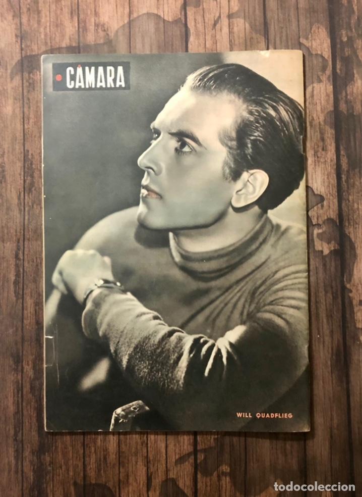 Cine: REVISTA CAMARA, NUMERO 12, SEPTIEMBRE DE 1942, ( TALLERES RIVADENEYRA ) - Foto 3 - 243103000