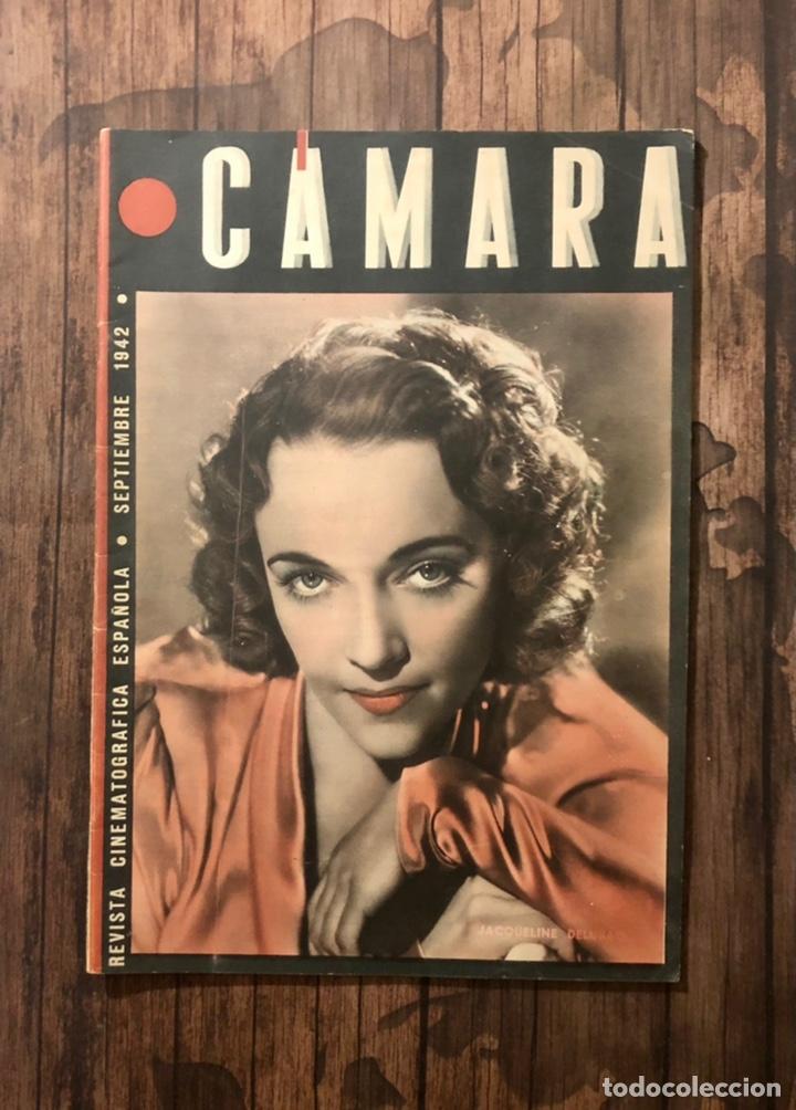 REVISTA CAMARA, NUMERO 12, SEPTIEMBRE DE 1942, ( TALLERES RIVADENEYRA ) (Cine - Revistas - Cámara)