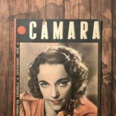 Cine: REVISTA CAMARA, NUMERO 12, SEPTIEMBRE DE 1942, ( TALLERES RIVADENEYRA ). Lote 243103000