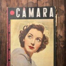 Cine: REVISTA CAMARA, NUMERO 69, NOVIEMBRE DE 1945, ( TALLERES RIVADENEYRA ). Lote 243103100