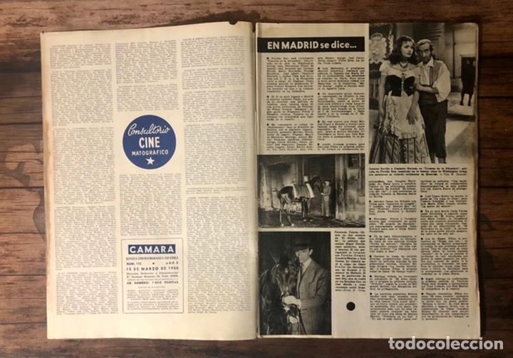Cine: REVISTA CAMARA, NUMERO 173, MARZO DE 1950, ( TALLERES RIVADENEYRA ) - Foto 2 - 243103245
