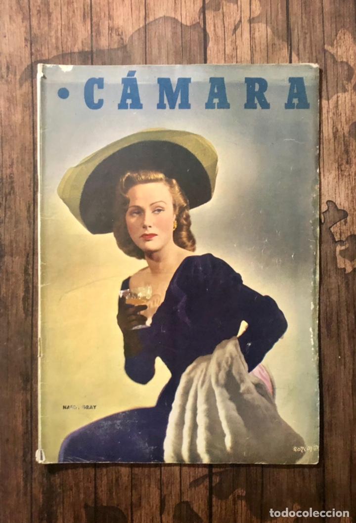 REVISTA CAMARA, NUMERO 173, MARZO DE 1950, ( TALLERES RIVADENEYRA ) (Cine - Revistas - Cámara)