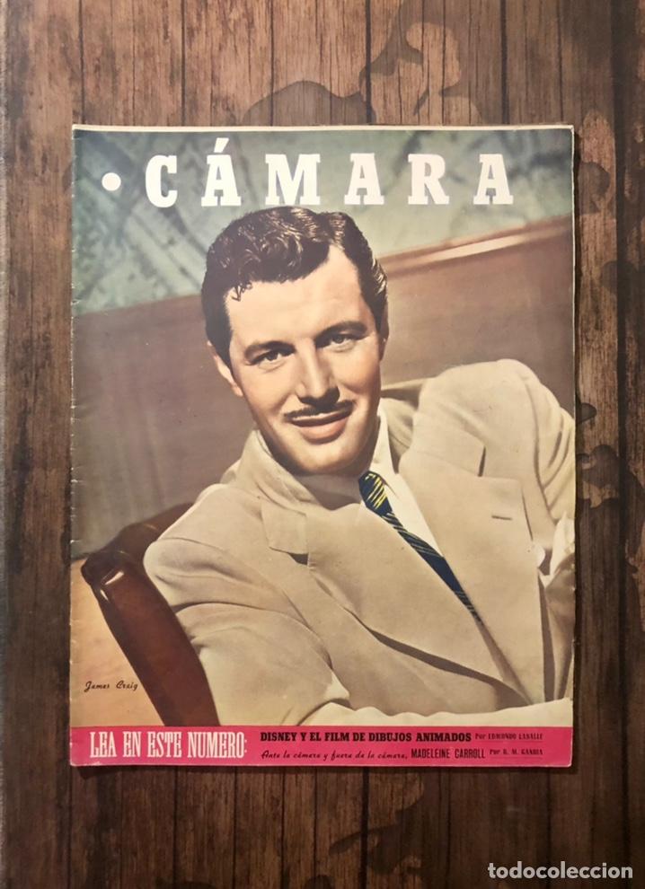 REVISTA CAMARA, NUMERO 78, ABRIL DE 1946, ( TALLERES RIVADENEYRA ) (Cine - Revistas - Cámara)