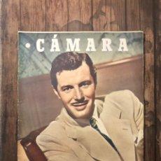 Cine: REVISTA CAMARA, NUMERO 78, ABRIL DE 1946, ( TALLERES RIVADENEYRA ). Lote 243103270