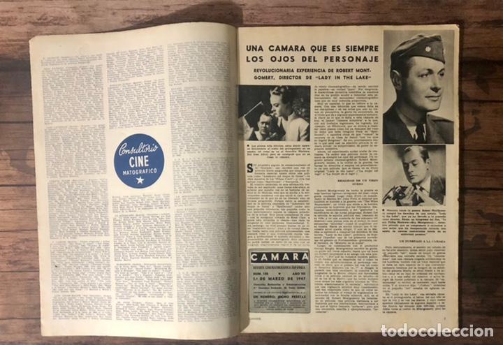 Cine: REVISTA CAMARA, NUMERO 100, MARZO DE 1947, ( TALLERES RIVADENEYRA ) - Foto 2 - 243103325