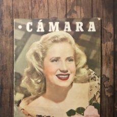 Cine: REVISTA CAMARA, NUMERO 100, MARZO DE 1947, ( TALLERES RIVADENEYRA ). Lote 243103325
