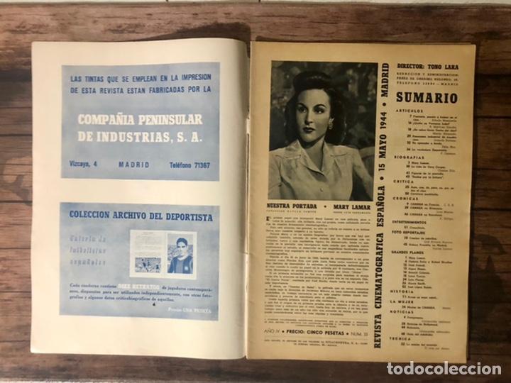 Cine: REVISTA CAMARA, NUMERO 33, MAYO DE 1944, ( TALLERES RIVADENEYRA ) - Foto 2 - 243103360
