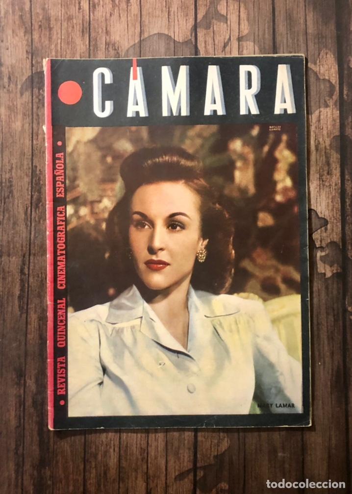 REVISTA CAMARA, NUMERO 33, MAYO DE 1944, ( TALLERES RIVADENEYRA ) (Cine - Revistas - Cámara)