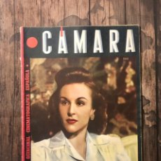 Cine: REVISTA CAMARA, NUMERO 33, MAYO DE 1944, ( TALLERES RIVADENEYRA ). Lote 243103360
