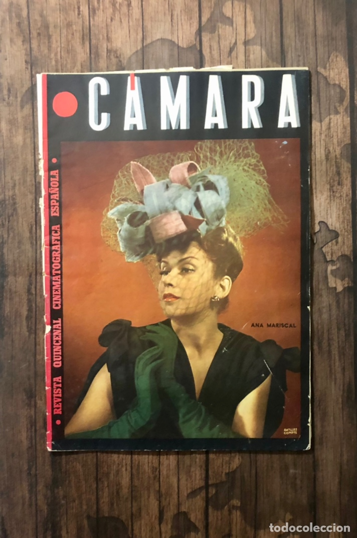 REVISTA CAMARA, NUMERO 42, OCTUBRE DE 1944, ( TALLERES RIVADENEYRA ) (Cine - Revistas - Cámara)