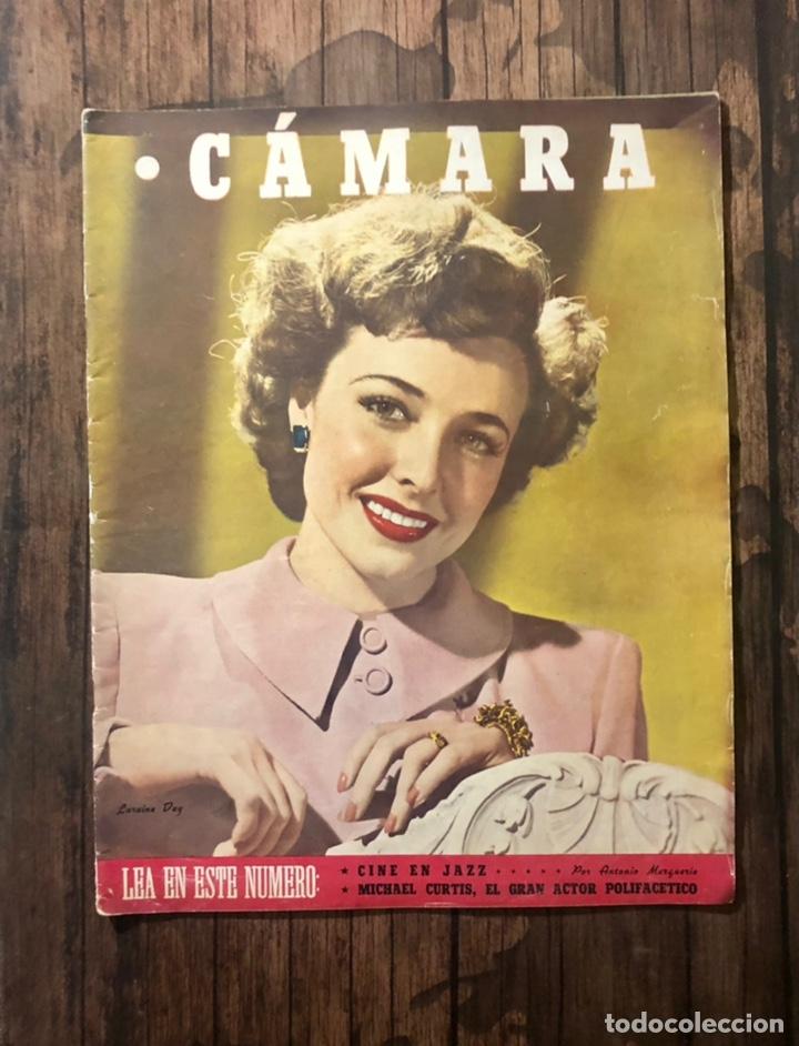 REVISTA CAMARA, NUMERO 85, JULIO DE 1946, ( TALLERES RIVADENEYRA ) (Cine - Revistas - Cámara)